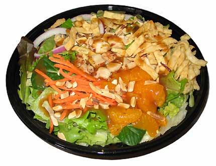 Jack in the Box Asian Chicken Salad