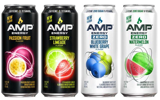 Amp Watermelon Energy Drink