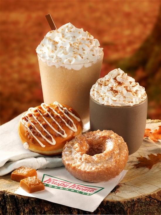 FOOD NEWS: Krispy Kreme Salted Caramel Latte and Salted Caramel Latte ...
