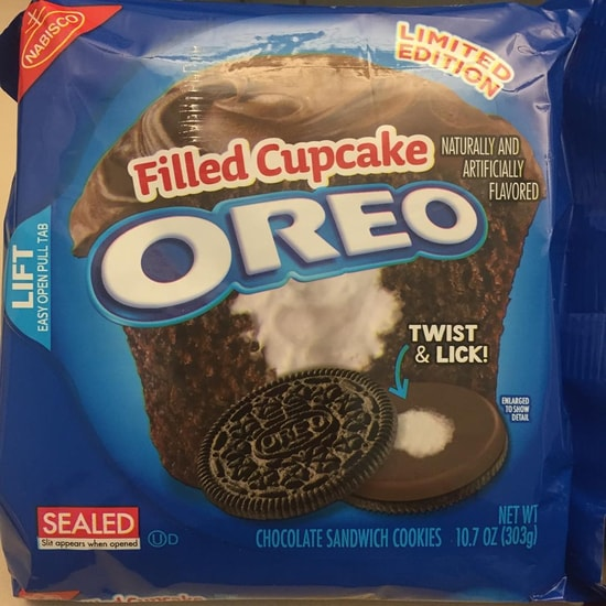 COMING SOON: Limited Edition Filled Cupcake Oreo Cookies ...