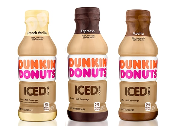 Coming Soon Dunkin Donuts Bottled Iced Coffee The