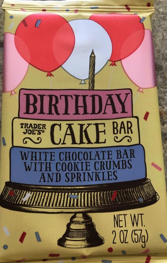 Birthday Cake Bar Trader Joe