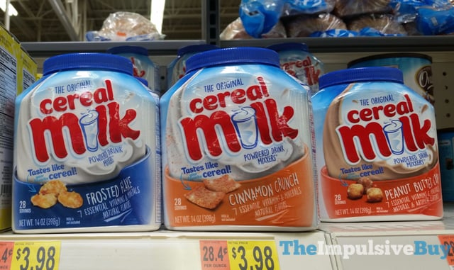 SPOTTED ON SHELVES: The Original Cereal Milk Powdered Drink Mixxers - The Impulsive Buy