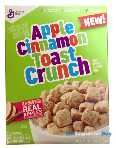 REVIEW: Apple Cinnamon Toast Crunch Cereal