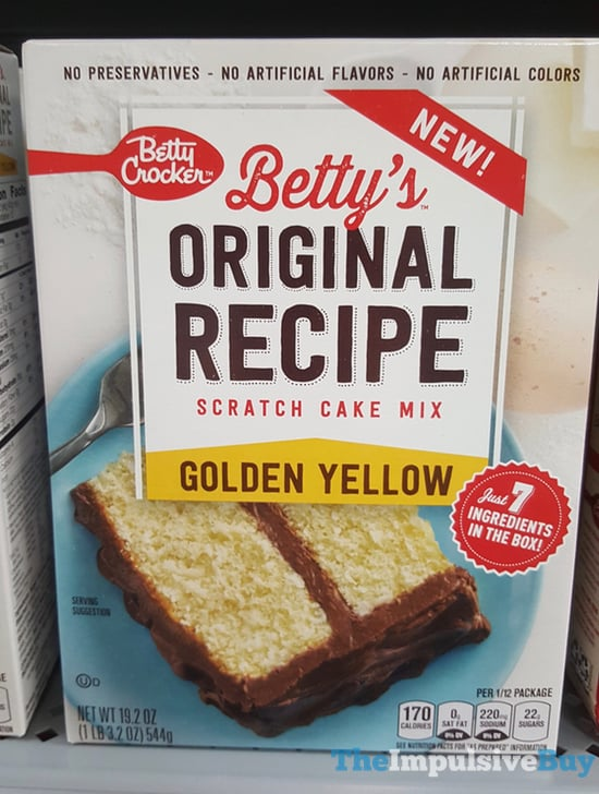 Betty Crocker Yellow Cake Recipe From Scratch