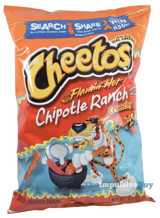 REVIEW: Cheetos Crunchy Flamin' Hot Chipotle Ranch
