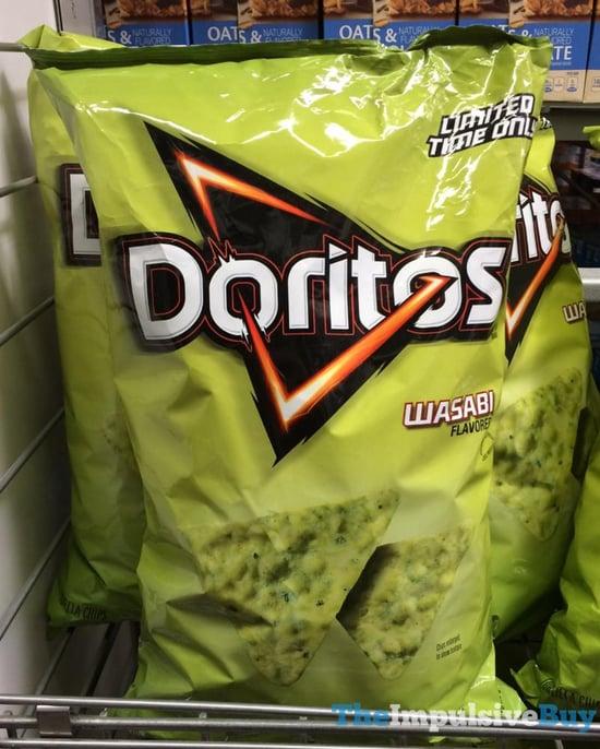 BACK ON SHELVES: Limited Time Only Doritos Wasabi (2017)