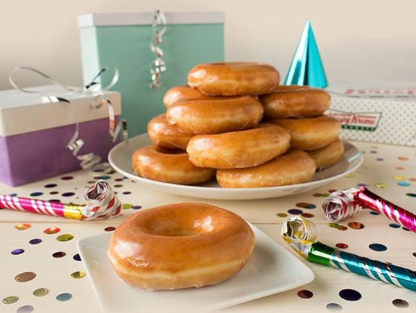 Free Birthday Krispy Kreme ~ Reminder cent krispy kreme original glazed dozen deal today the impulsive buy