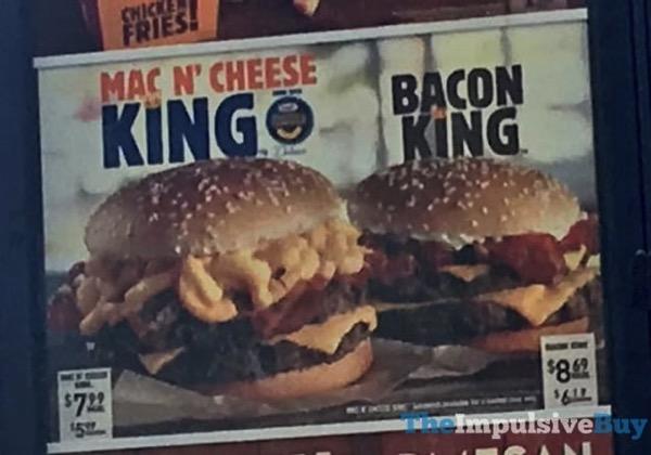FAST FOOD NEWS: Burger King's Mac N' Cheese King - The Impulsive Buy