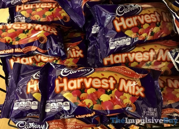 SPOTTED ON SHELVES: Cadbury Harvest Mix - The Impulsive Buy