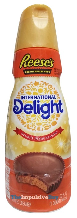 REVIEW: International Delight Reese's Peanut Butter Cups Coffee Creamer - The Impulsive Buy