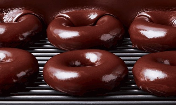FAST FOOD NEWS: Krispy Kreme Chocolate Glaze Doughnuts - The Impulsive Buy