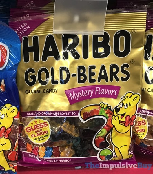 SPOTTED ON SHELVES: Limited Edition Haribo Gold-Bears Mystery Flavors - The Impulsive Buy
