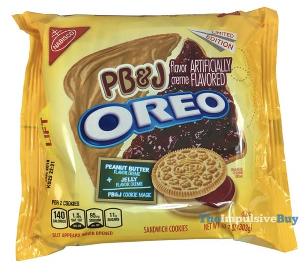 REVIEW: Limited Edition PB&J Oreo Cookies - The Impulsive Buy