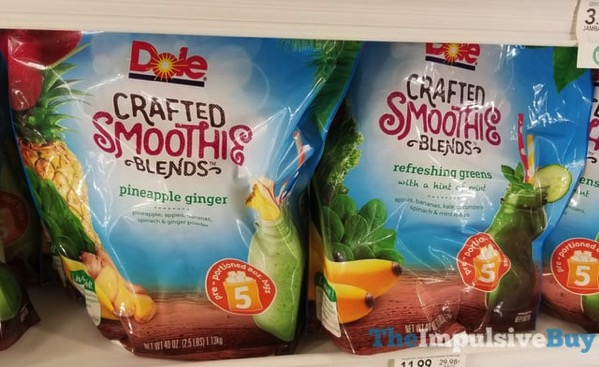 Dole Crafted Smoothie Blends Where To Buy