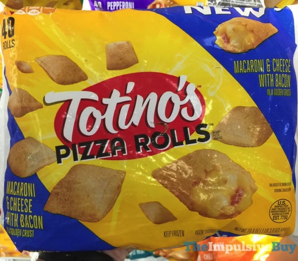 SPOTTED ON SHELVES: Totino's Pizza Rolls Macaroni & Cheese ...