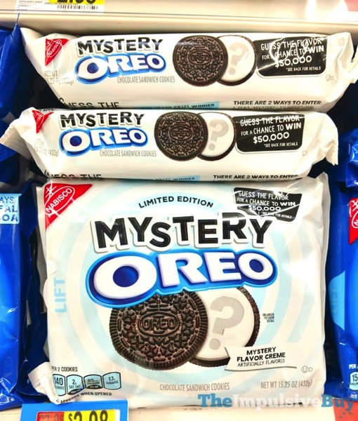 SPOTTED ON SHELVES: Limited Edition Mystery Oreo Cookies - The Impulsive Buy