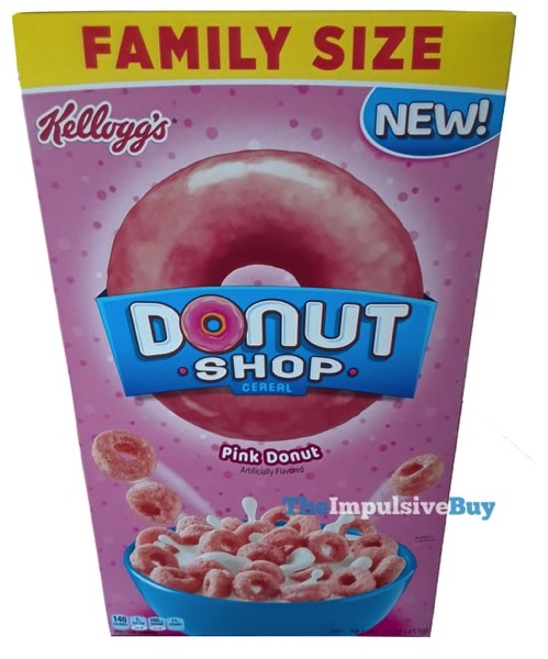 REVIEW: Kellogg's Donut Shop Cereals (Pink Donut And