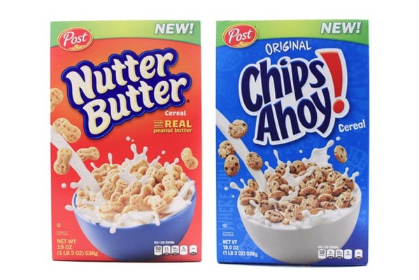 COMING SOON: Post Chips Ahoy and Nutter Butter Cereals - The Impulsive Buy