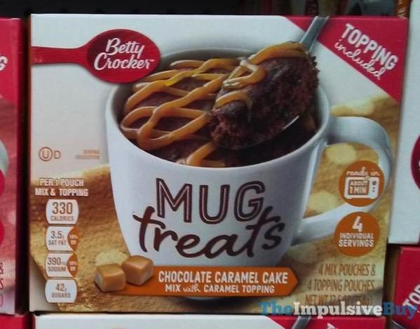 Mug Cake With Betty Crocker Mix