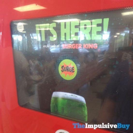 FAST FOOD NEWS: Surge Available at Burger King Coke ...