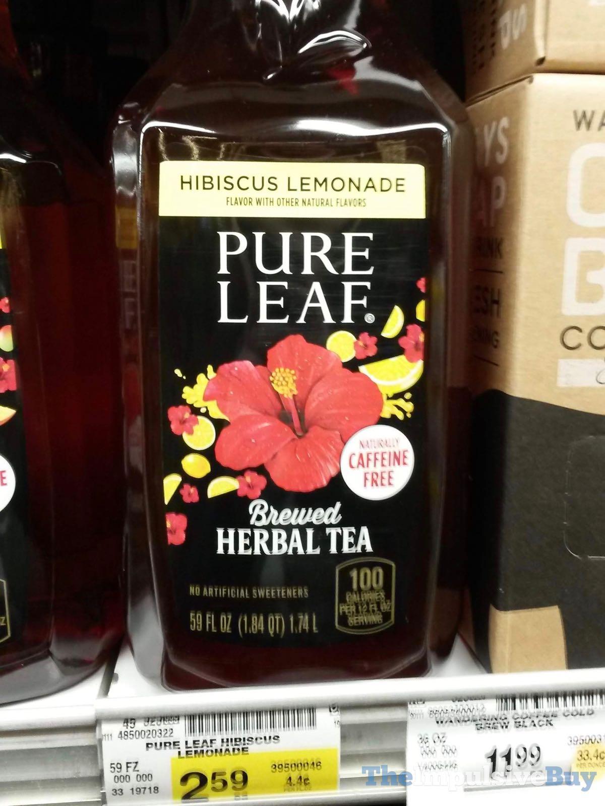 Pure Leaf Hibiscus Lemonade Brewed Herbal Teajpg The Impulsive Buy
