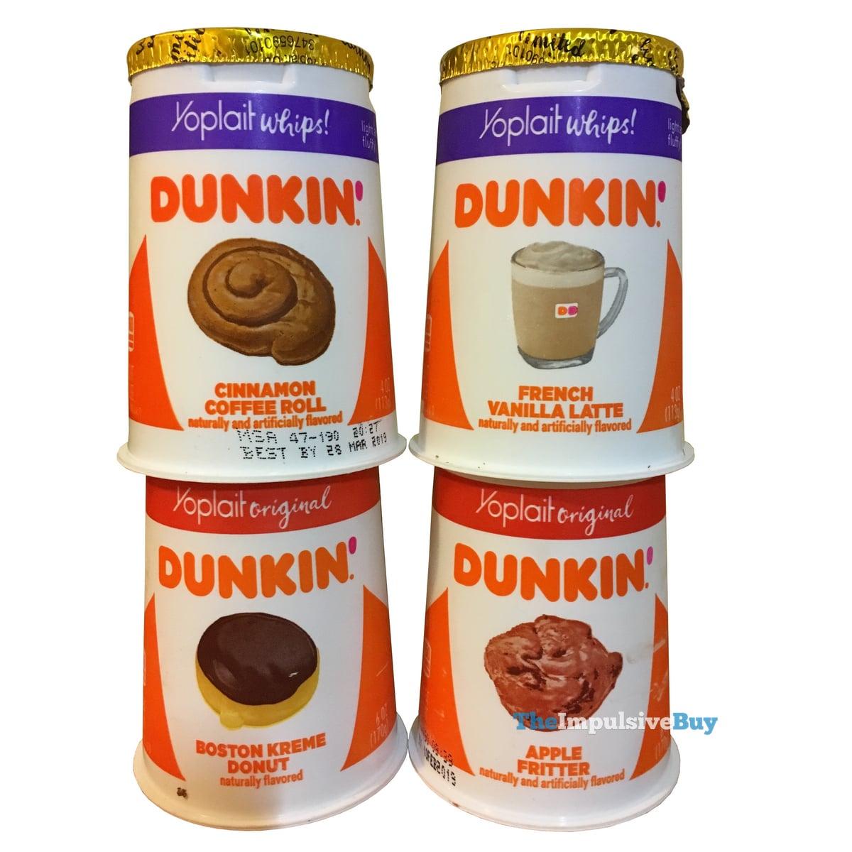 REVIEW: Yoplait Dunkin' Inspired Yogurt Flavors