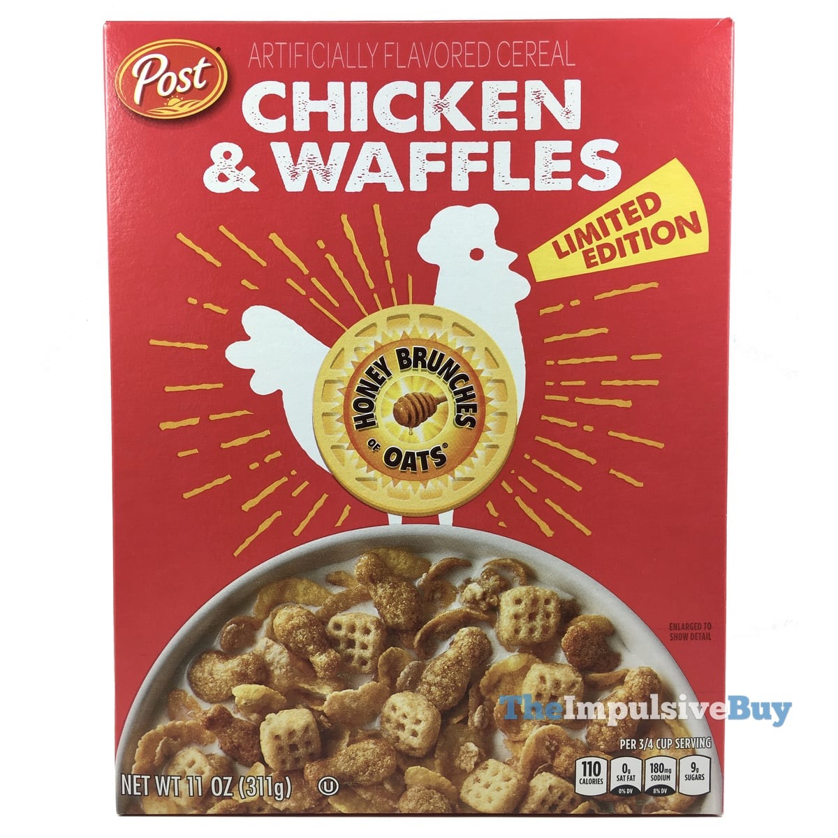 REVIEW: Honey Brunches Of Oats Chicken & Waffles And Maple