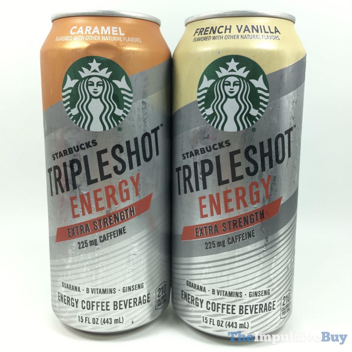 REVIEW: Starbucks Tripleshot Energy Coffee Beverages