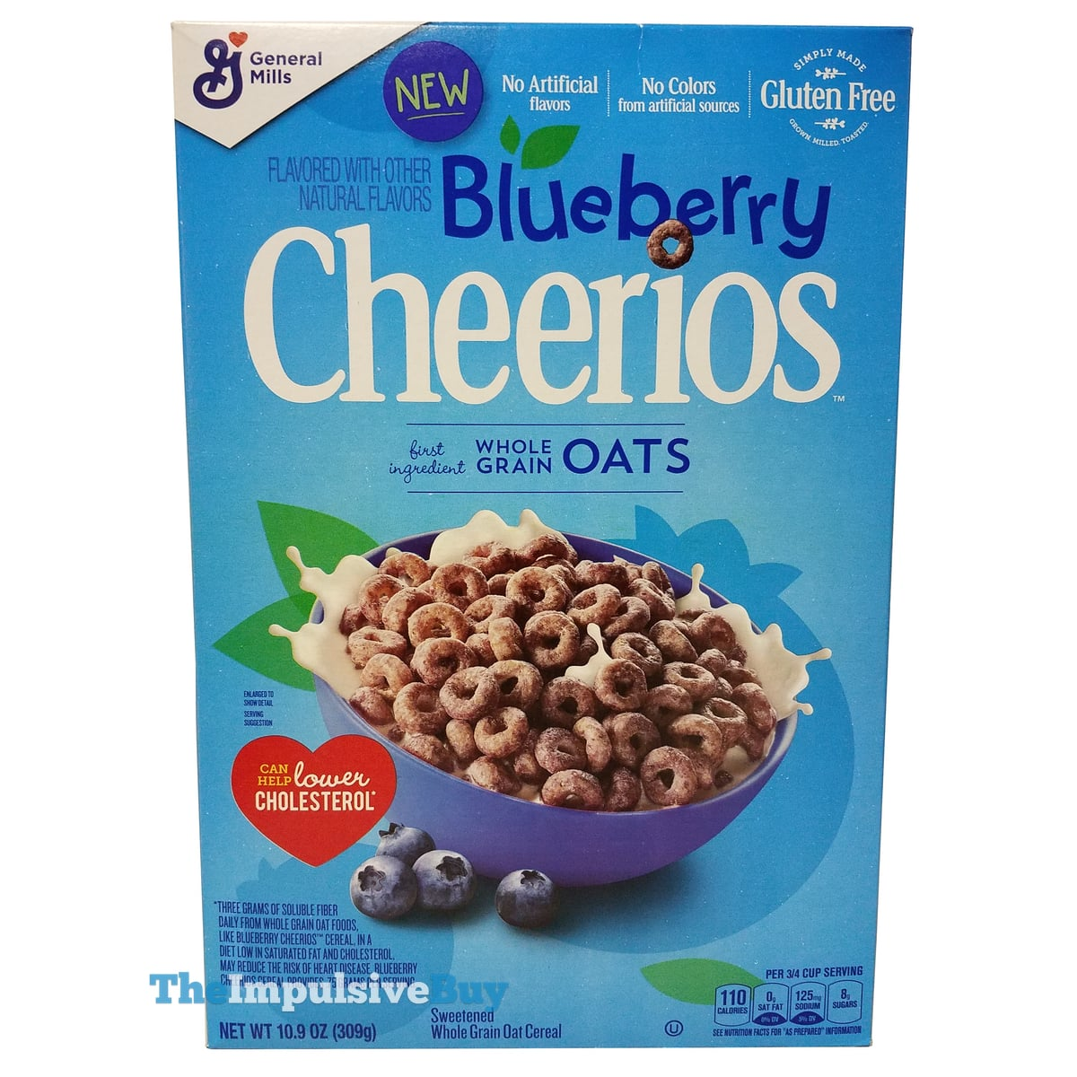 REVIEW: Blueberry Cheerios Cereal - The Impulsive Buy