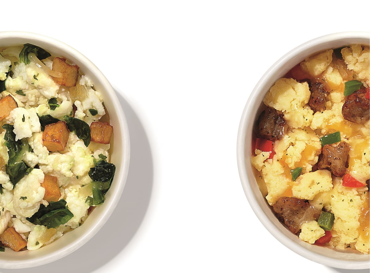 Fast Food News Dunkin Sausage Scramble Bowl And Egg