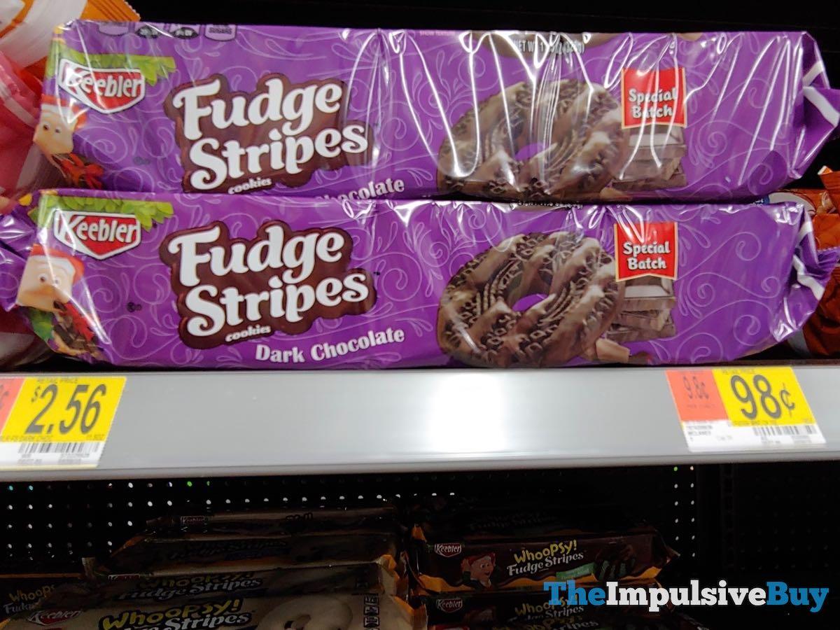 BACK ON SHELVES: Keebler Special Batch Dark Chocolate Fudge Stripes Cookies - The Impulsive Buy