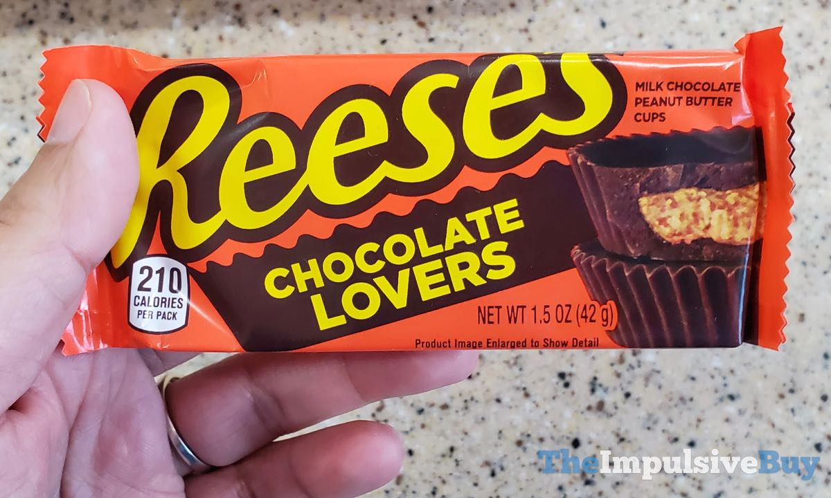 BACK ON SHELVES: Reese's Chocolate Lovers and Peanut Butter Lovers Peanut Butter Cups - The Impulsive Buy