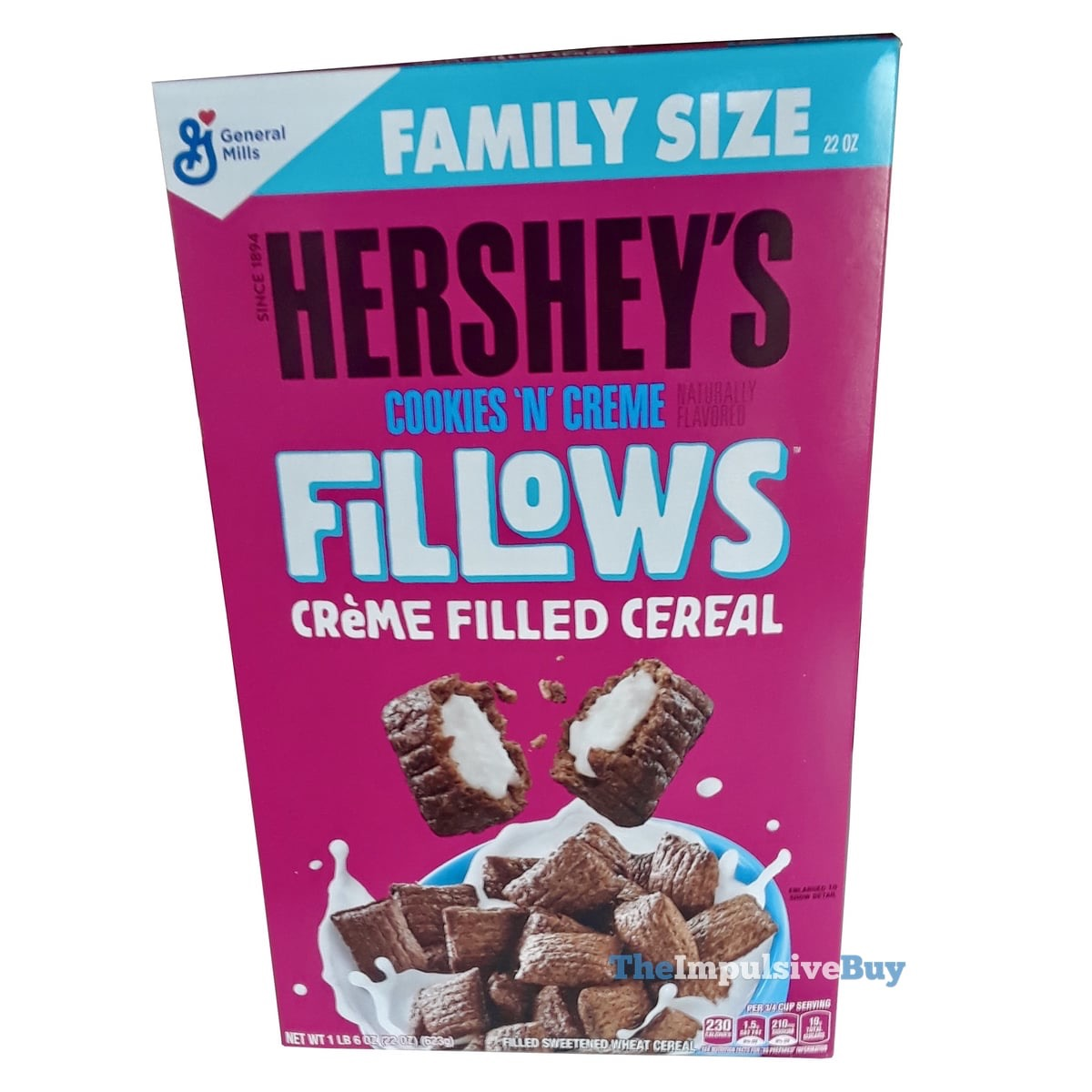 REVIEW: Fillows Creme Filled Cereal