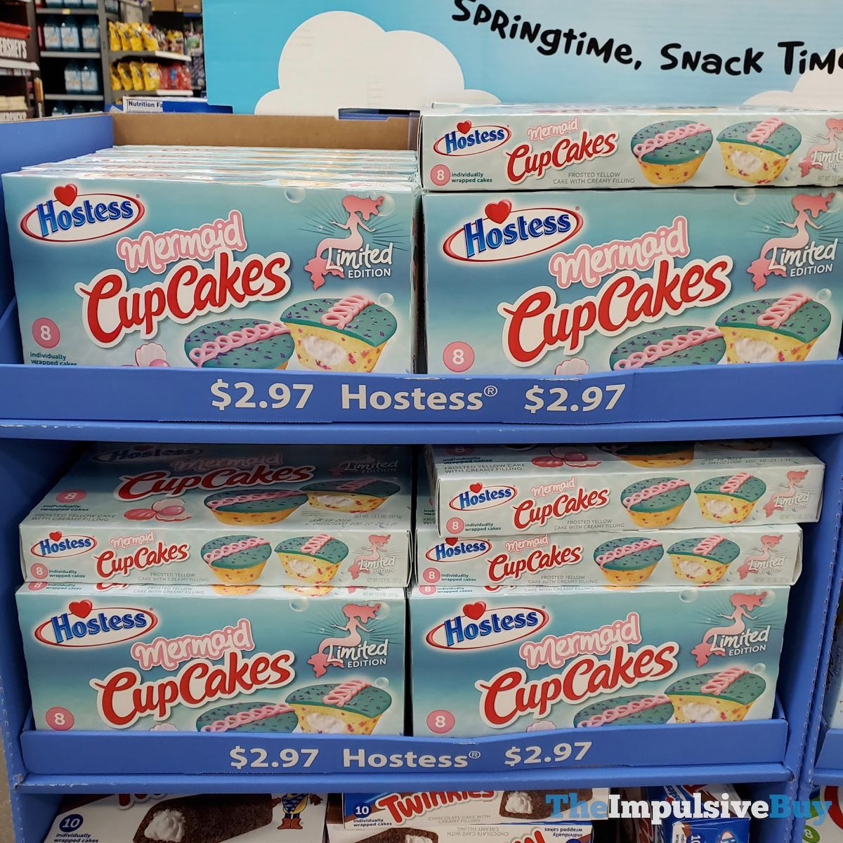 SPOTTED: Hostess Limited Edition Mermaid CupCakes - The