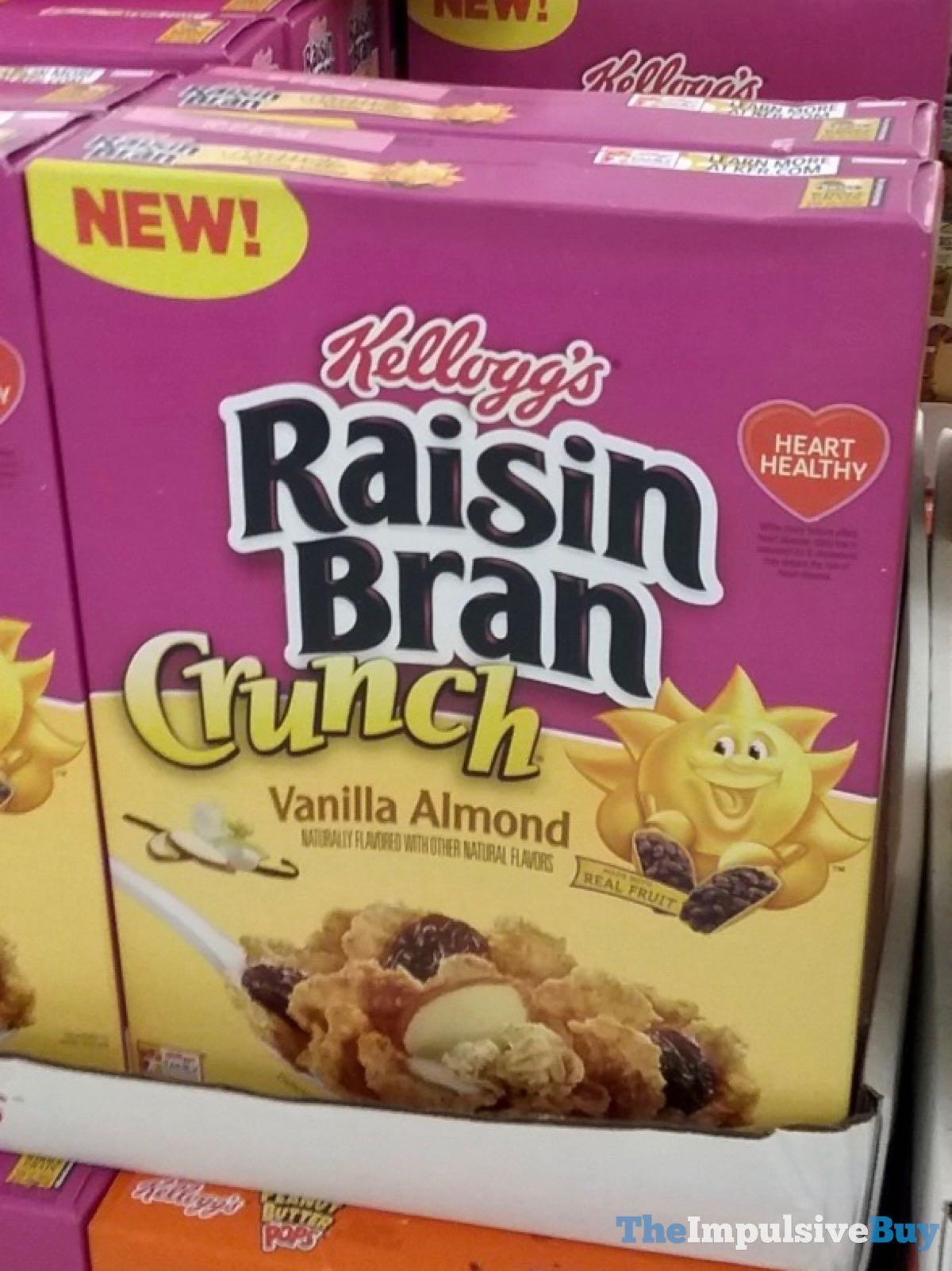 SPOTTED: Kellogg's Raisin Bran Crunch Vanilla Almond Cereal - The Impulsive Buy