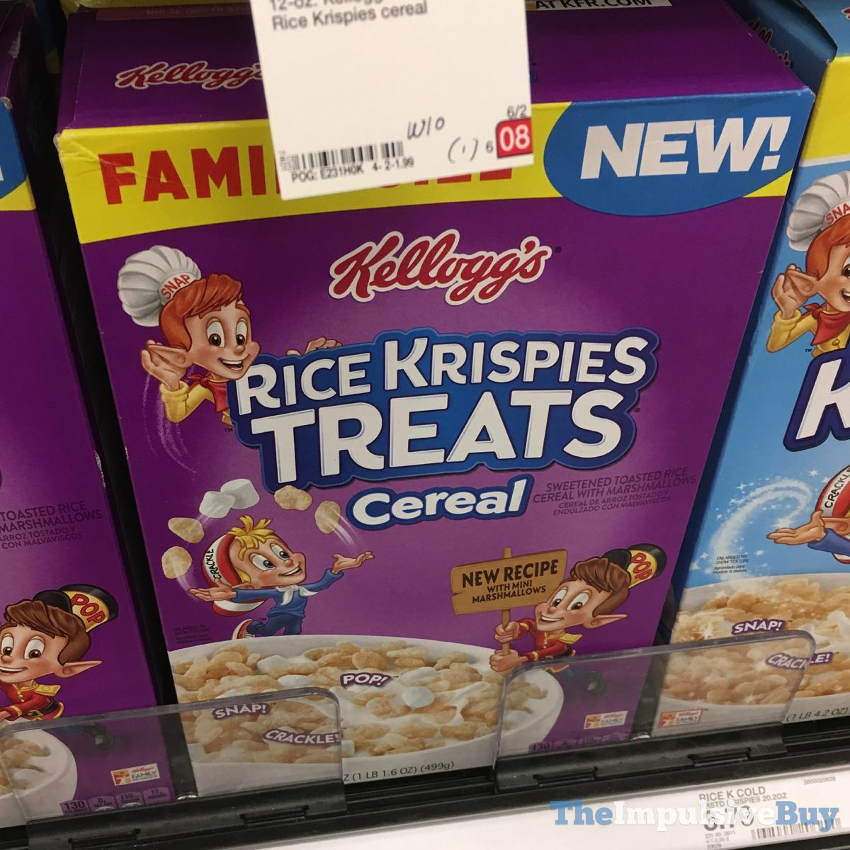 SPOTTED: Kellogg's Rice Krispies Treats Cereal (2019 New