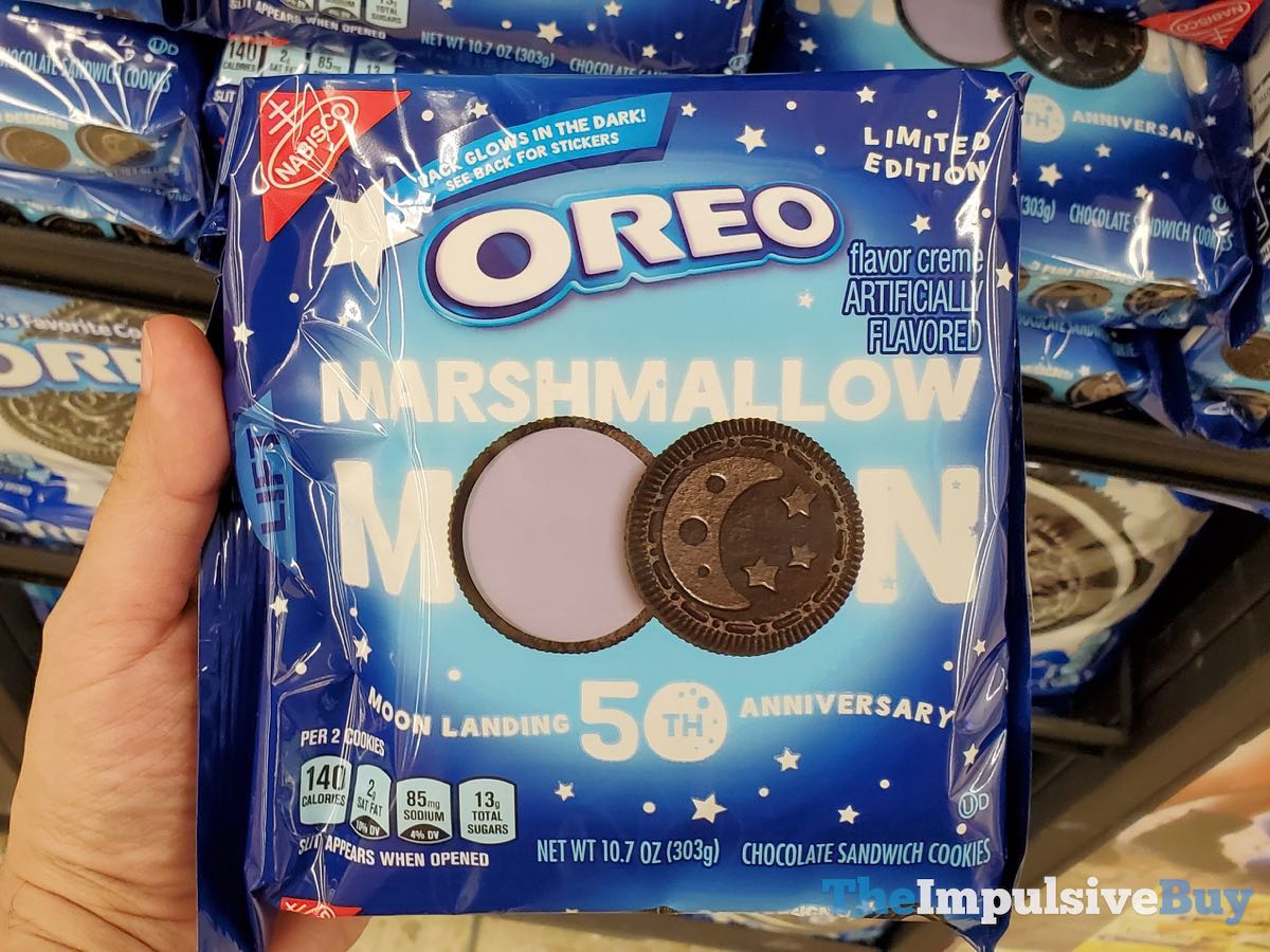 SPOTTED: Limited Edition Marshmallow Moon Oreo Cookies - The Impulsive Buy