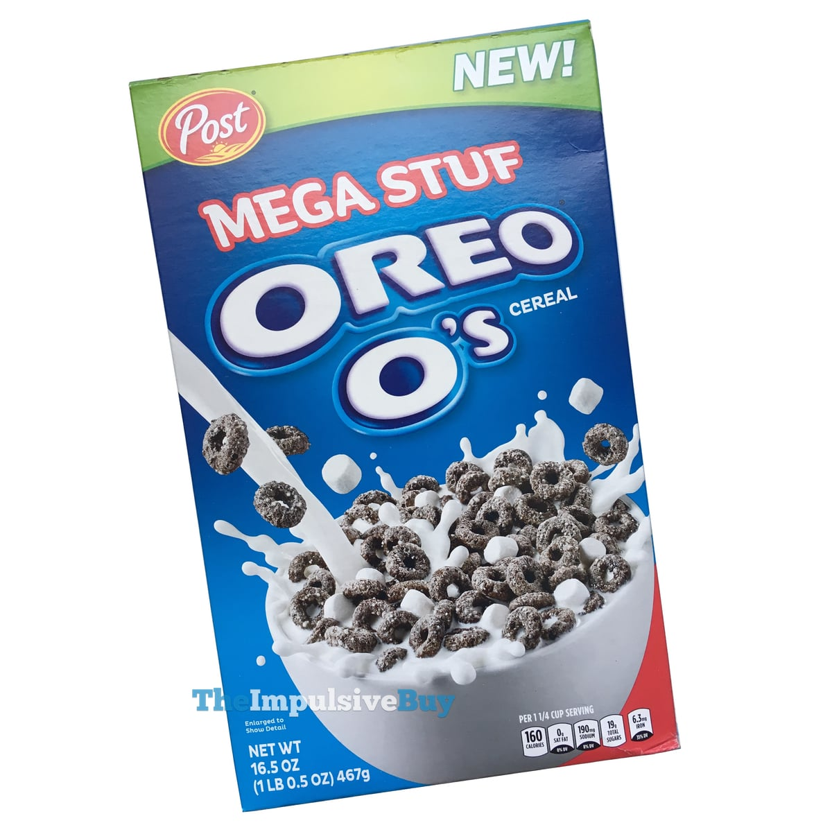REVIEW: Post Mega Stuf Oreo O's Cereal