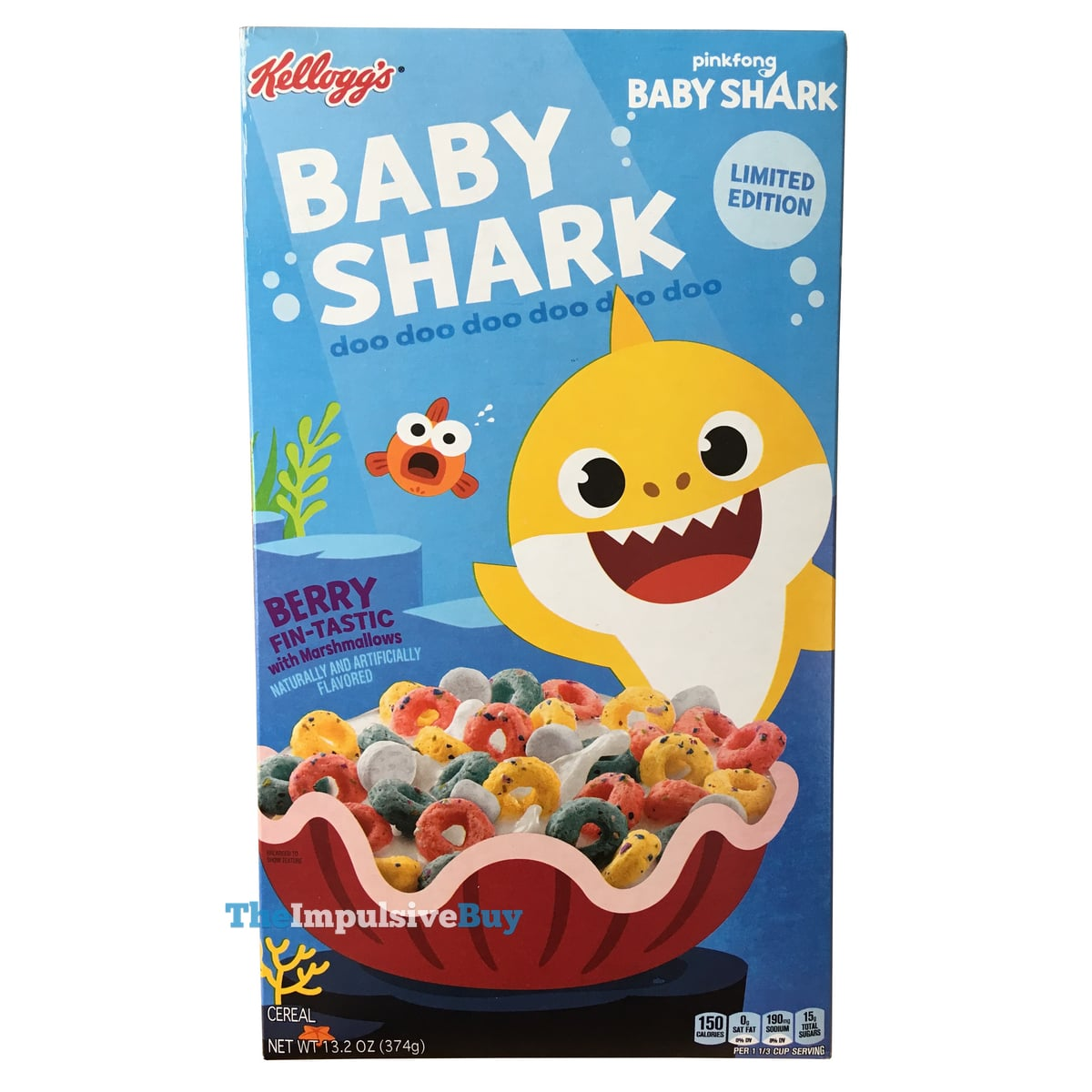 REVIEW: Kellogg's Limited Edition Baby Shark Cereal