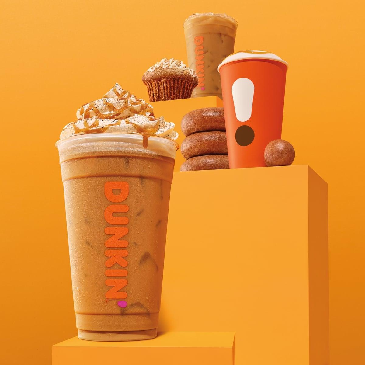 FAST FOOD NEWS: Dunkin' Cinnamon Sugar Pumpkin Signature