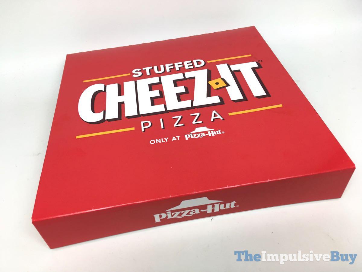 REVIEW: Pizza Hut Stuffed Cheez-It