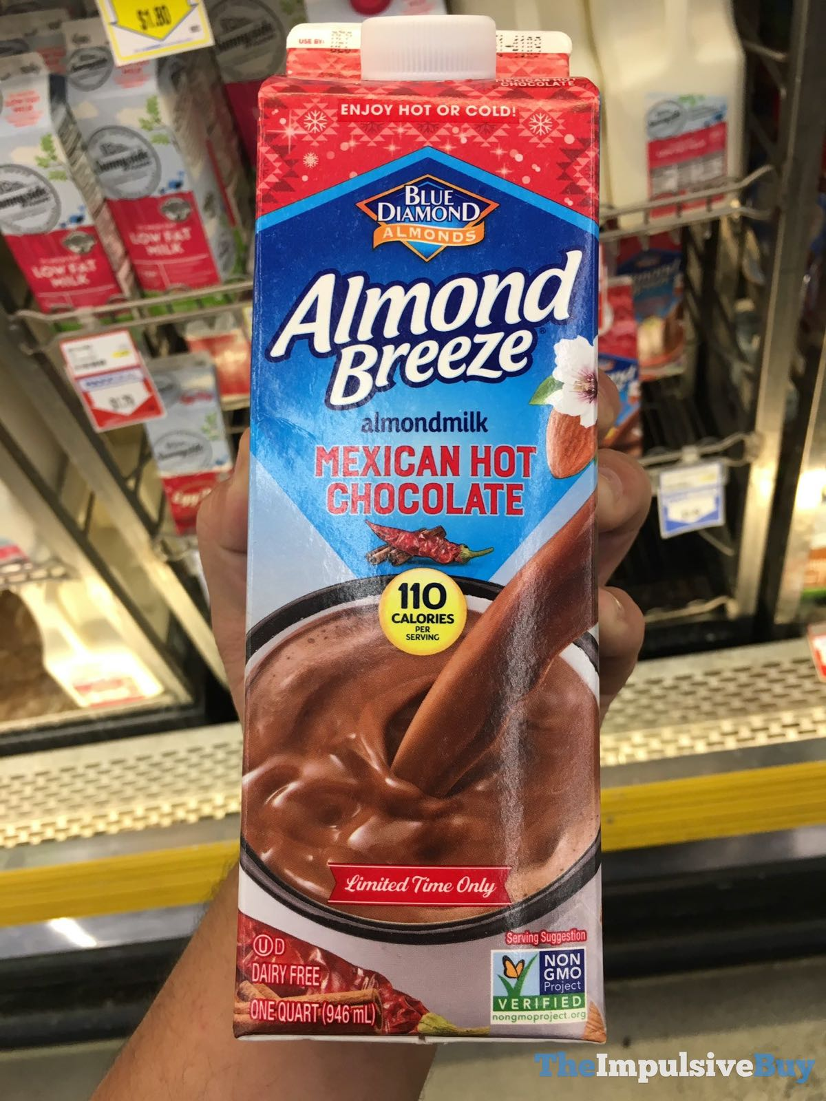 SPOTTED: Blue Diamond Almond Breeze Mexican Hot Chocolate Almondmilk - The Impulsive Buy