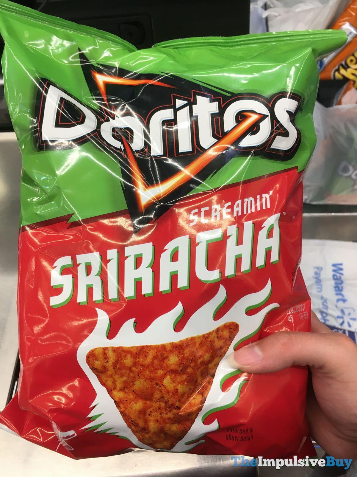 SPOTTED: Doritos Screamin' Sriracha - The Impulsive Buy
