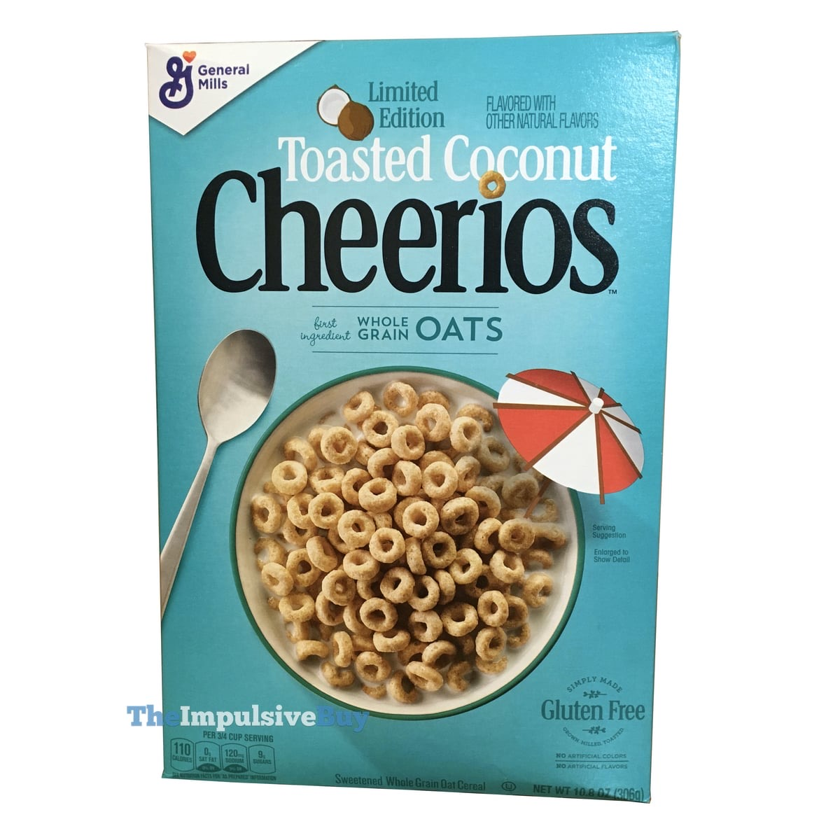 Toasted Coconut Cheerios Cereal
