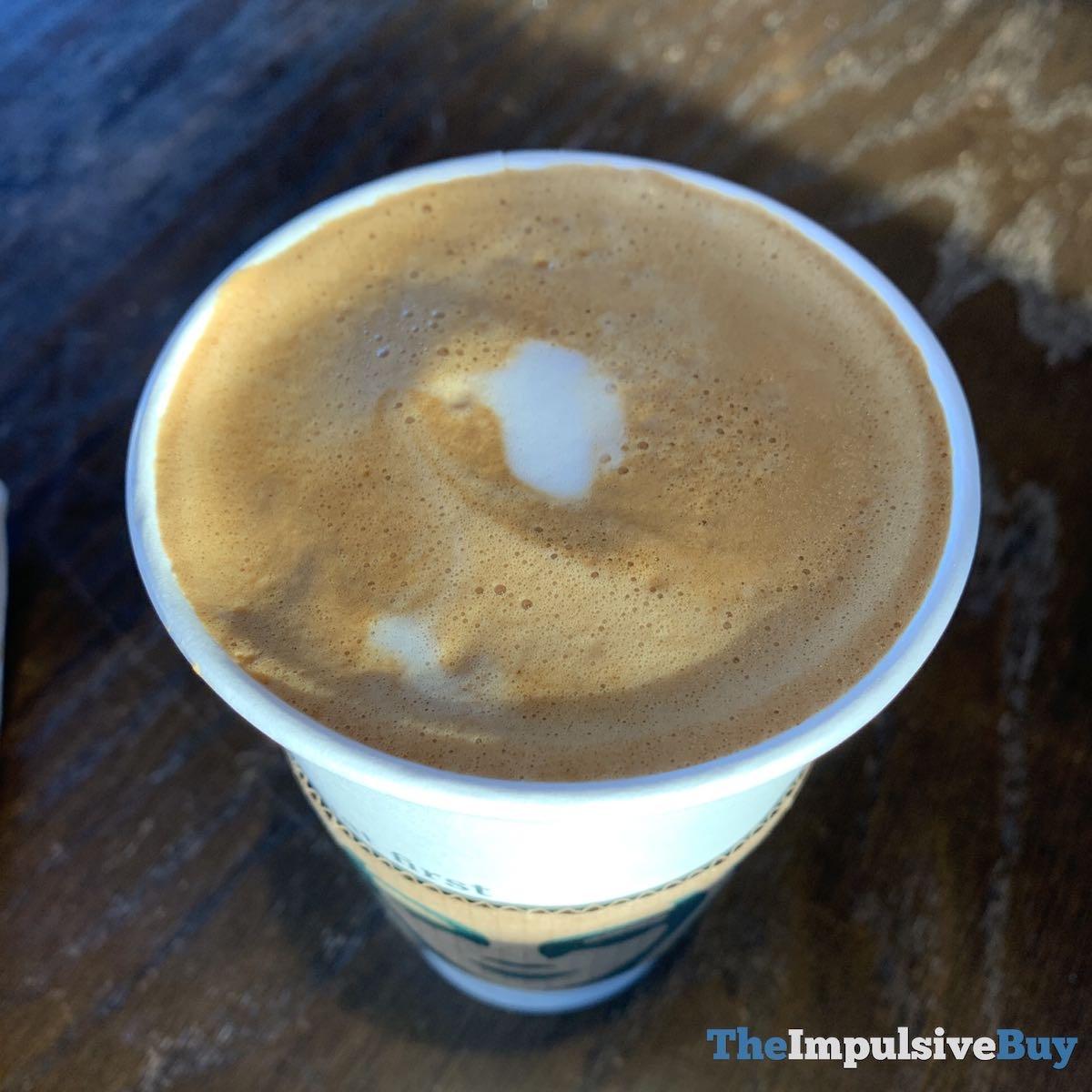 Starbucks Almondmilk Honey Flat White