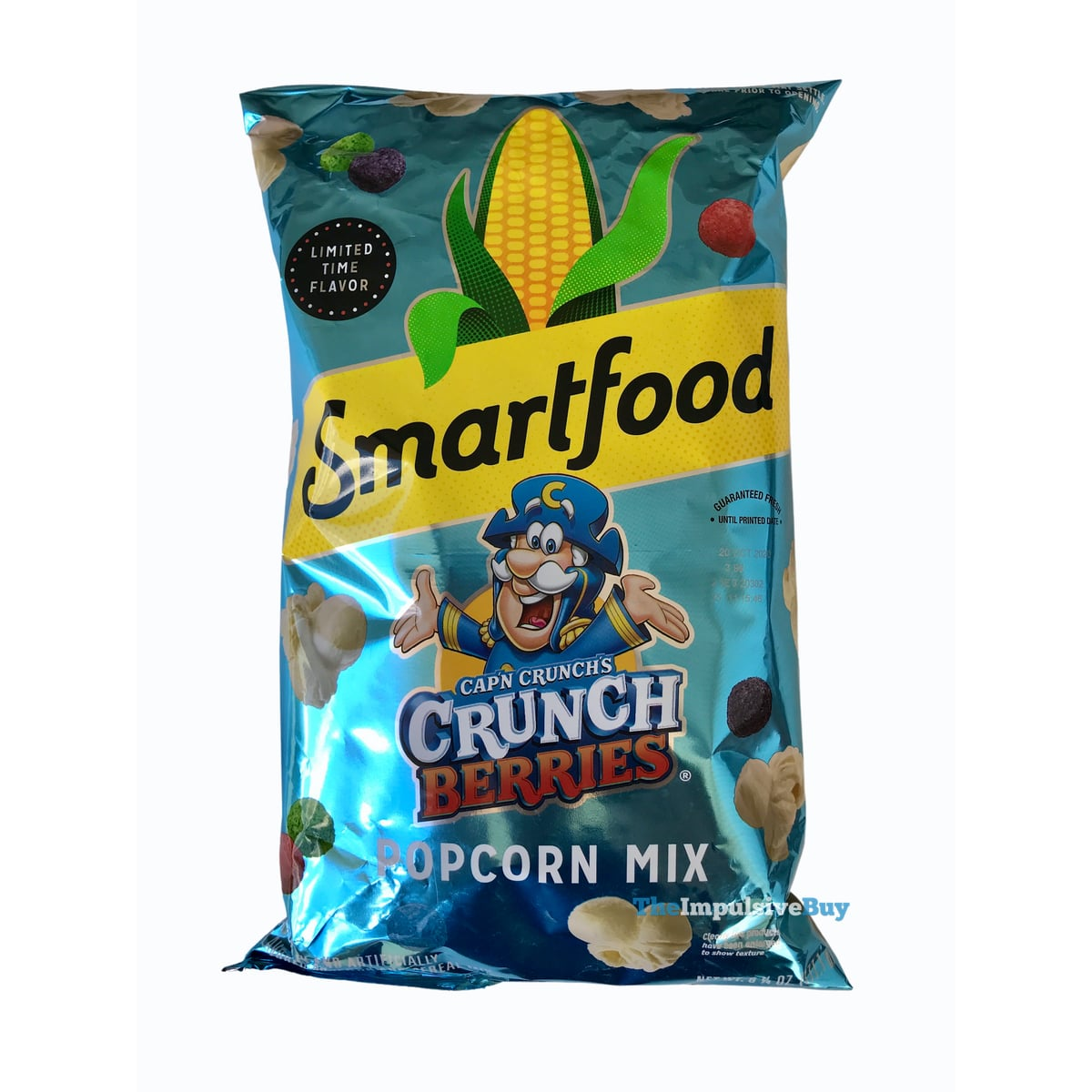 Review Smartfood Cap N Crunch S Crunch Berries Popcorn Mix The Impulsive Buy All berries is filled with delicious artificially fruit flavored berry shaped cereal. crunch berries popcorn mix