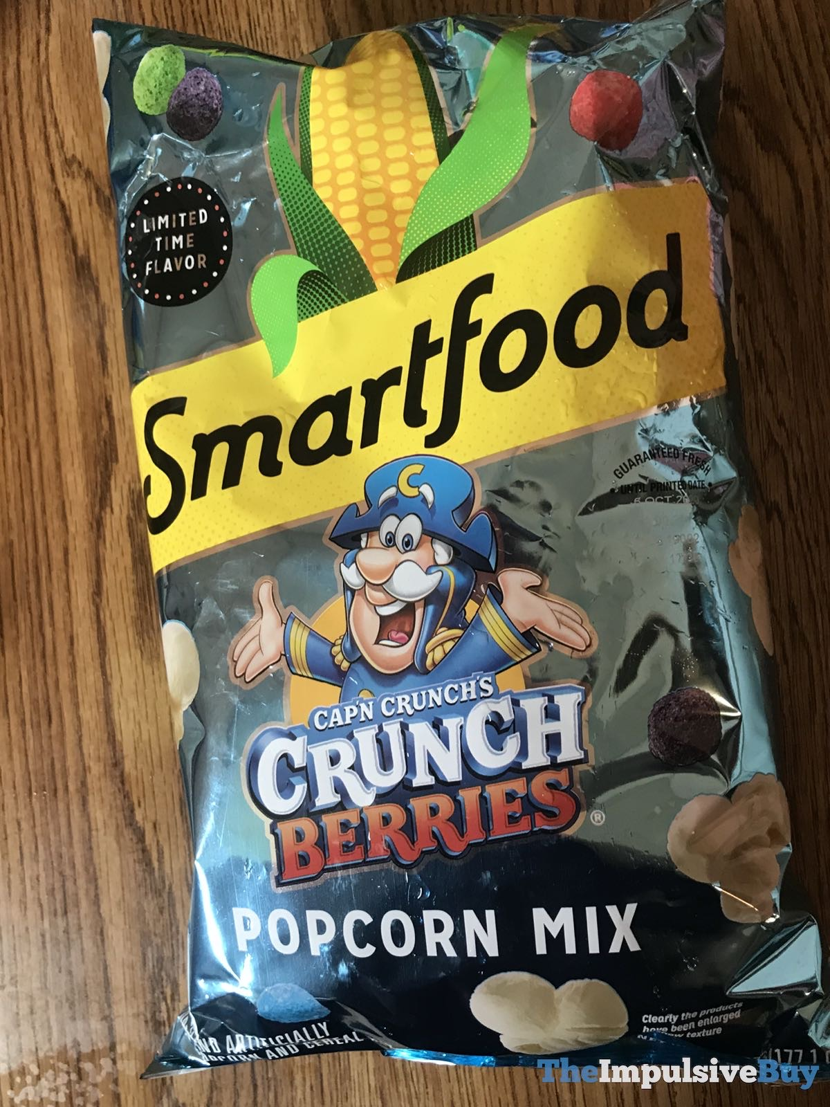 Spotted Smartfood Cap N Crunch S Crunch Berries Popcorn Mix The Impulsive Buy You'd need to walk 36 minutes to burn 130 calories. crunch berries popcorn mix