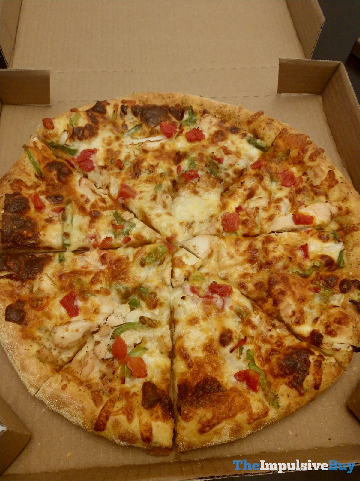 Review Domino S Chicken Taco Pizza The Impulsive Buy