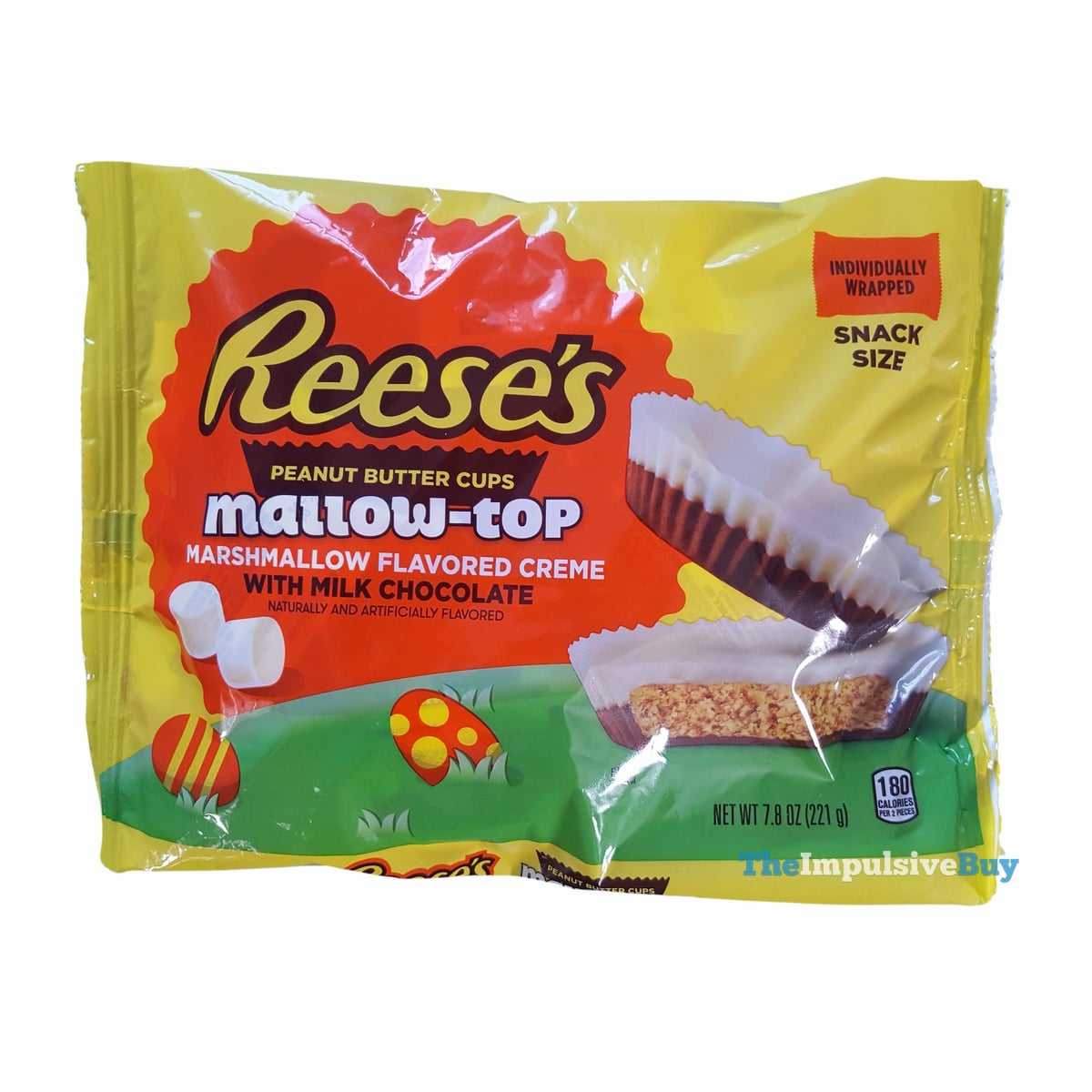 REVIEW: Reese's Mallow-top Peanut Butter Cups - The ...
